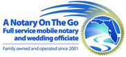 A Notary On The Go Florida Logo
